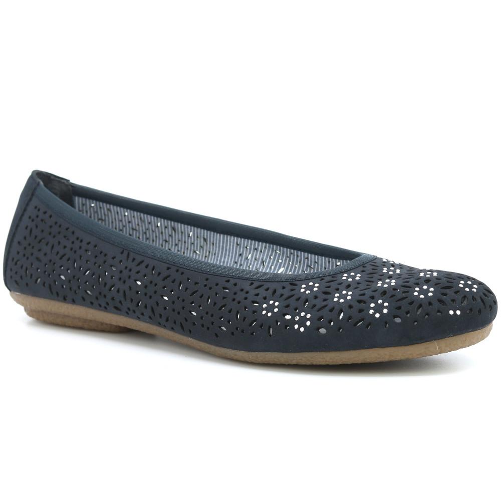 separation shoes buying now look for RIEKER dámské baleríny modré   Asoto.cz
